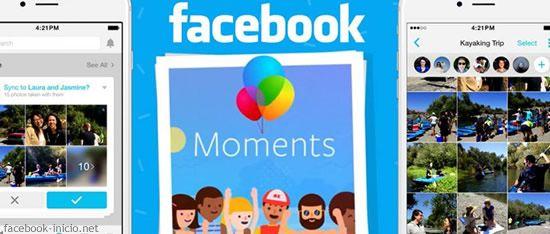 Facebook advierte la necesidad de instalar Moments, y anuncia que se perderán tus fotos sincronizadas desde el móvil.