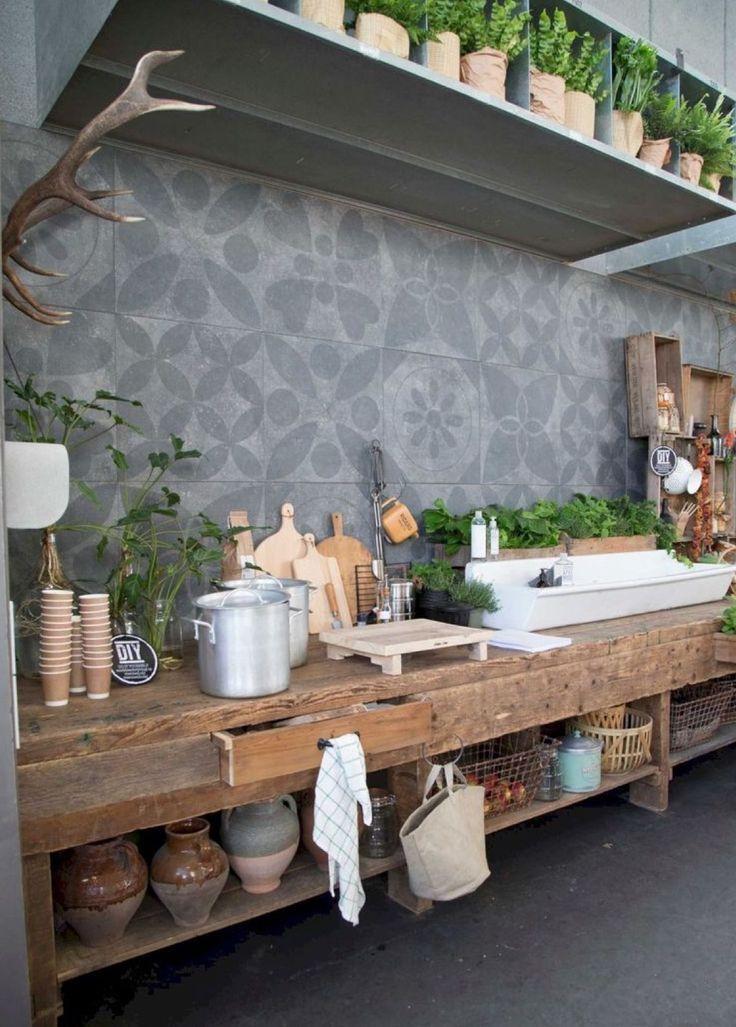 Outdoor kitchen + Kitchen Ideas + Kitchen Design for Outdoor