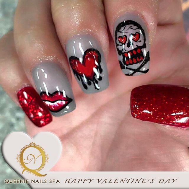 12 best Valentine Nail Art Design images on Pinterest | Nail art ...