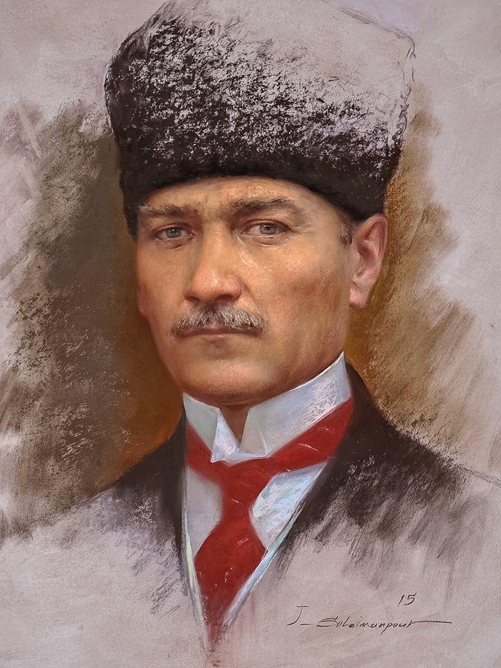 Mustafa Kemal ATATÜRK   (Ressam;Javad Soleimanpour)