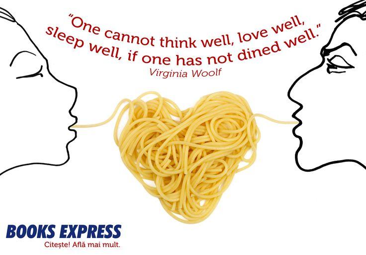 Food is love by Virginia Wolf