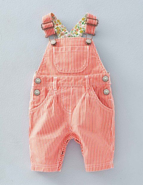 Pretty Ticking Dungaree 72161 Dungarees & Playsuits at Boden