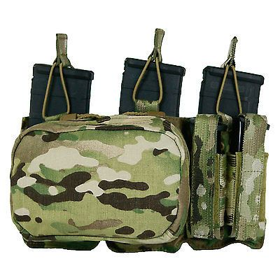 Magazine Pouches 73965: Tactical Assault Gear Molle Triple Mag Pistol Utility Pouch, Multicam 832607 -> BUY IT NOW ONLY: $133.99 on eBay!