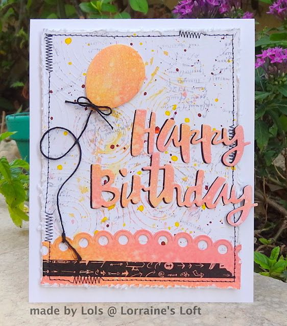 Lorraine's Loft: Simon Says Happy Birthday on the Monday Challenge