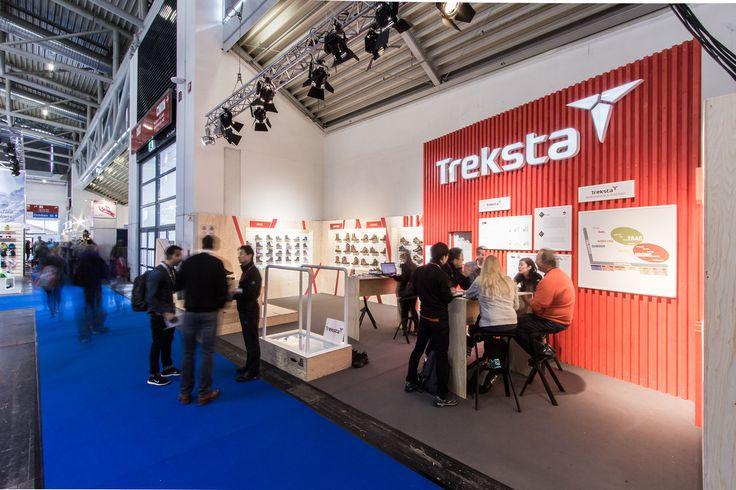 Client: Treksta . Location: ISPO 2015 . Messe Munich . Design: Stockwerk 1 GmbH