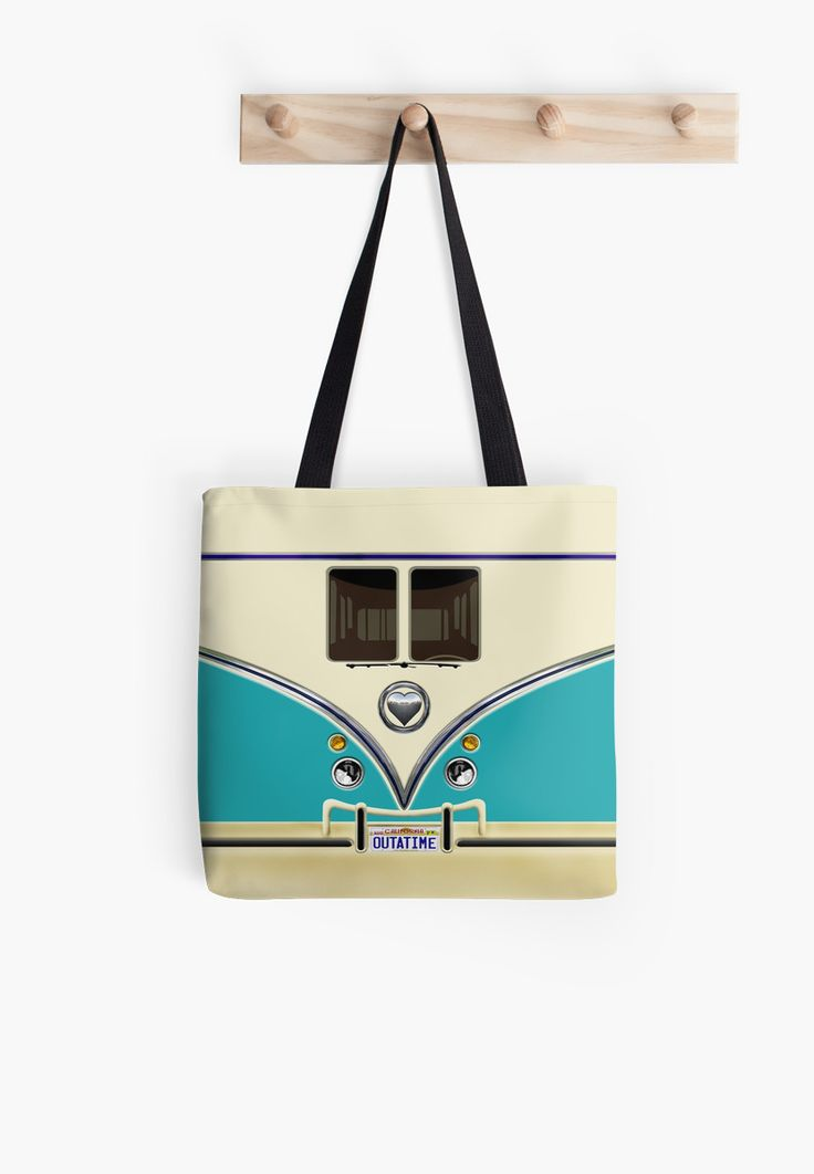 kawaii Blue teal love bug mini bus Tote Bags @pointsalestore #ToteBags #bag #funny #cute #fun #lol #veedub #golf #kombi #minivan #minibus #beetle #bus #camper #retro #splitwindow #van #vintage #bumper #car #lovecar #offroad #campercar #microbus #pickup #transporter