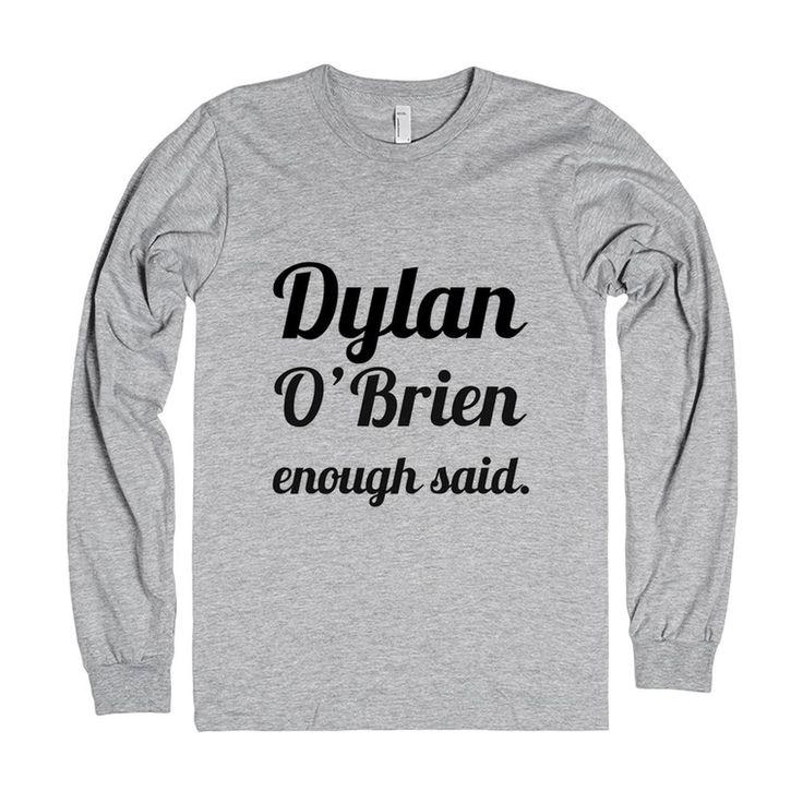 Dylan O'Brien Shirt. I need this!!