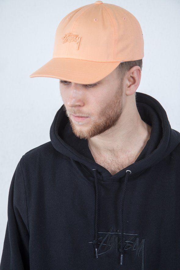 Stüssy - Tonal Stock Low Cap, stussy, , curve, cap, hat, blue, trend, style, fashion, 2017, hat, blue, outfit, logo, black, accessories, orange, low,
