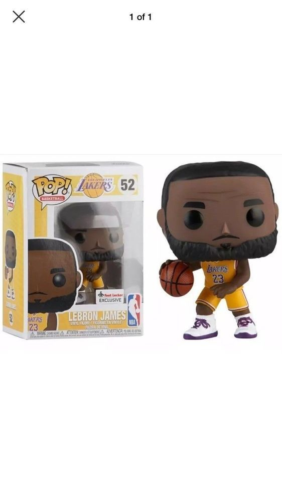 536568e2864 PREORDER Funko Pop LeBron James Lakers  52 - Footlocker Exclusive (eBay  Link)