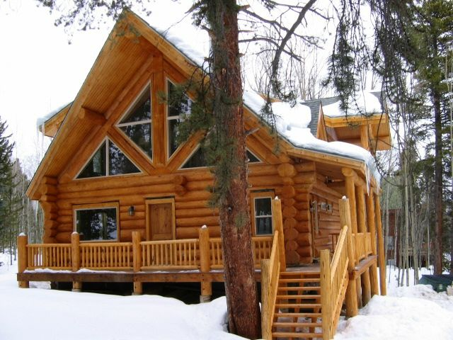 Still plan to have a log cabin in the mountains one day!
