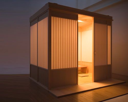 "New Japanese Export: ""Hako-Ie"" (or) Room In A Box"