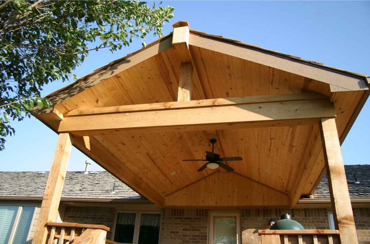 88 best deck and porch ideas images on pinterest for Rustic covered decks