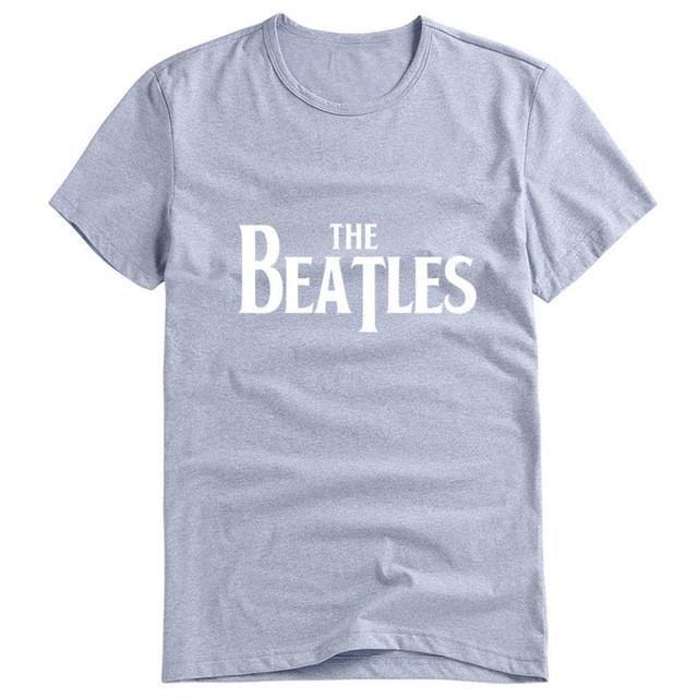 The Beatles Letter Print T-Shirt Women Top