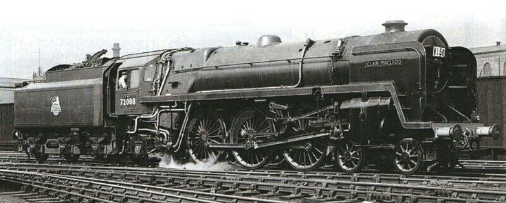 BR Standard Clan class 4-6-2  No 72008 'Clan MacLeod'