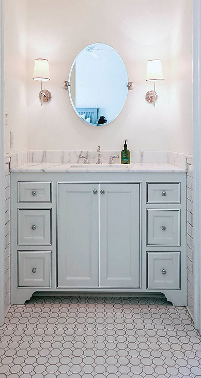 Small Bathroom Or Powder Room Flooring This Flooring Would Also