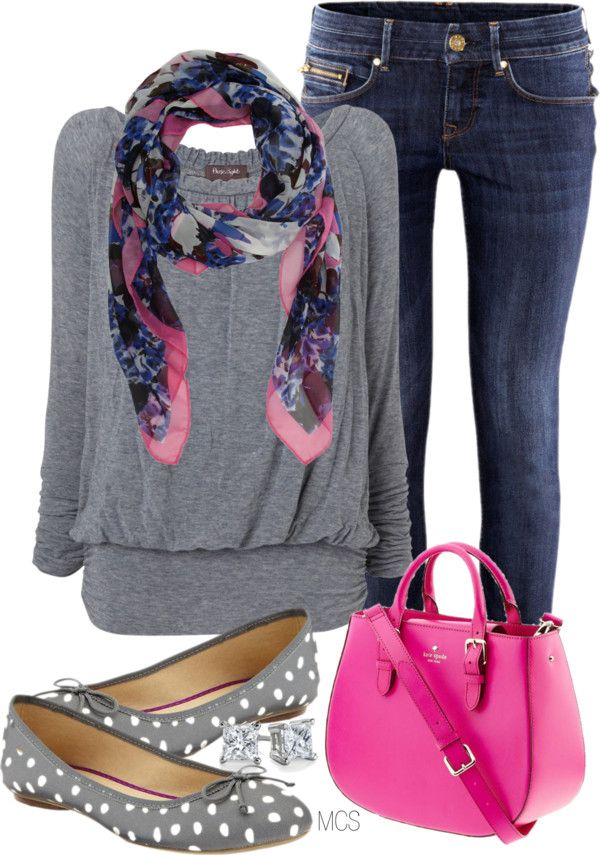 """Polka Dot Shoes"" by mclaires on Polyvore"