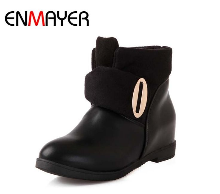 Airfour новые сапоги прибытие женщины ботильоны мода конного короткие обувь повседневная круглым носком сапоги на платформе зашнуровать продажи