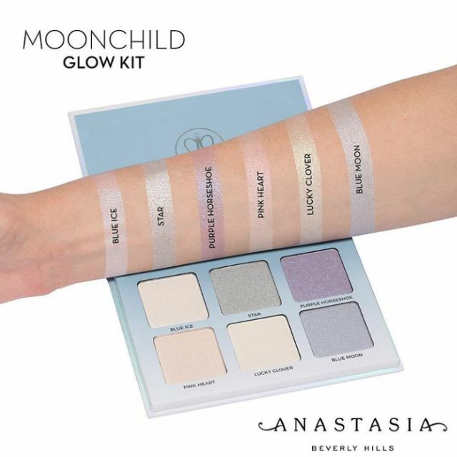 Anastasia Moonchild Glow Kit Swatches | thenataliet - Dayre
