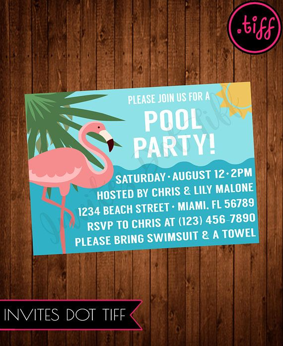 8 best Potlucks, Dinner Parties, BBQ, Pool Party Invites images on - free printable dinner party invitations