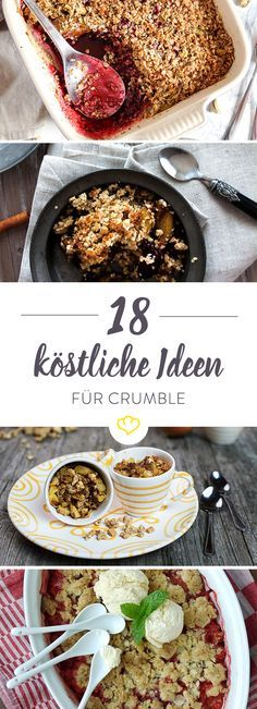 Crumble fur kuchen
