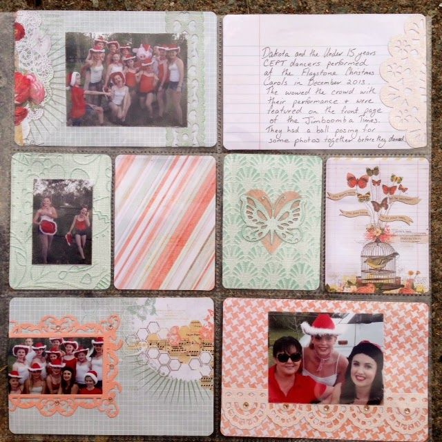 Couture Creations: Layout with matching Pocket Pages by Tina Connolly | #couturecreationsaus #pocketpages #scrapbooking #decorativedies #doilydies #ornamentallacedies #embossingfolders
