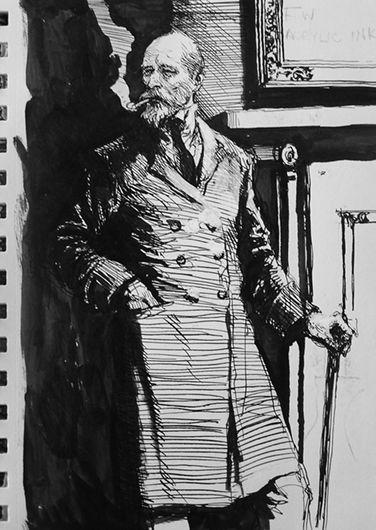 Karl Kopinski sketch.