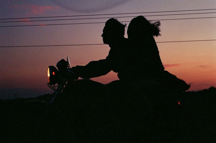 Une ballade en moto