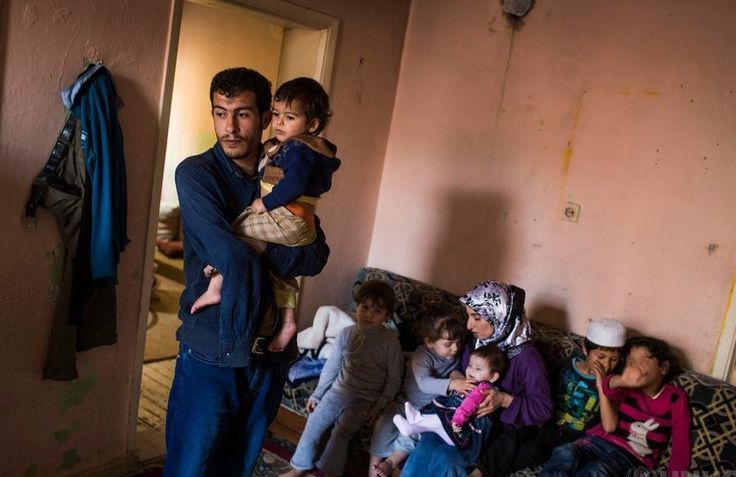 Syrian family and their horrid living conditions in exile.