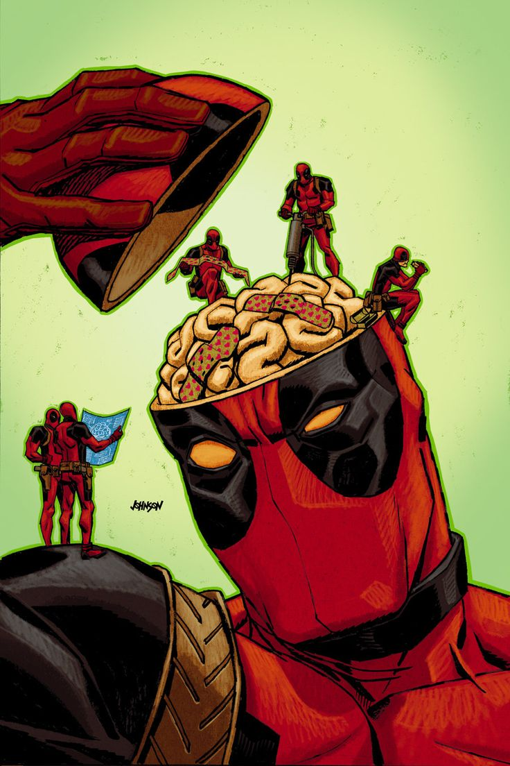 -Deadpool no.42 by `Devilpig on deviantART-  That's not going to help.