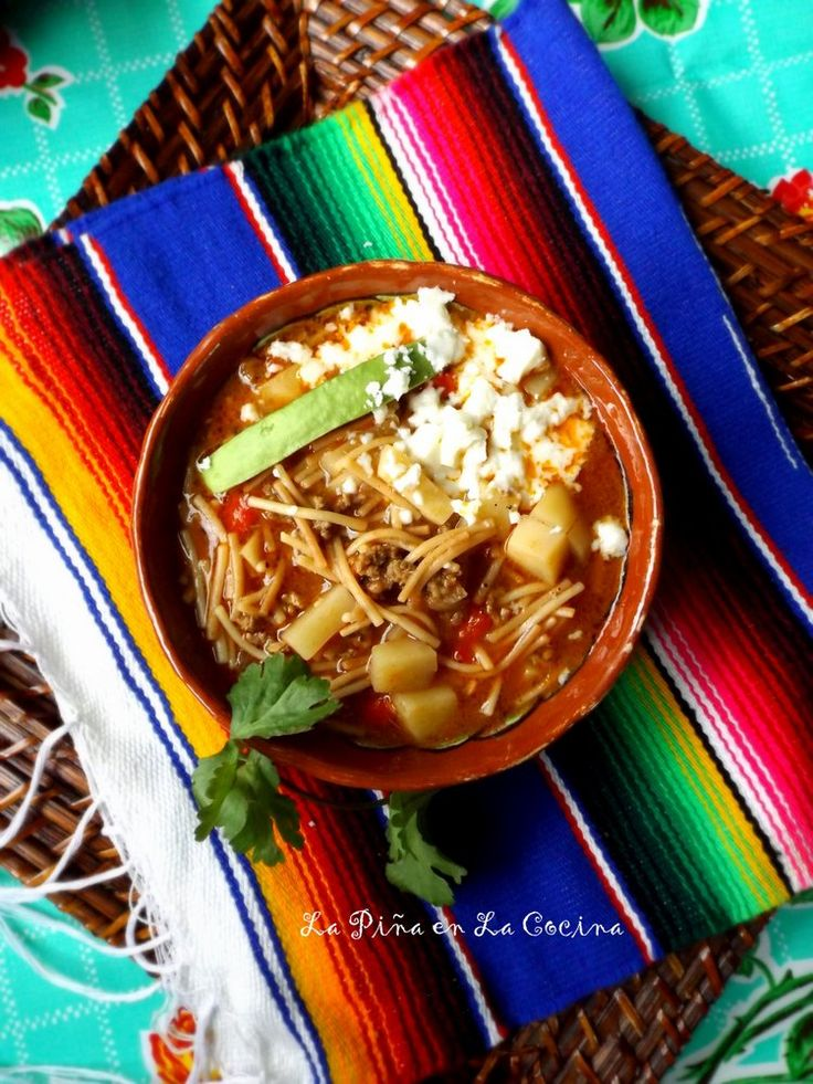 Fideo con Carne(Beef and Pasta Soup) #fideo