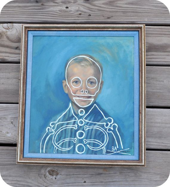 Butch Anthony skeleton portrait