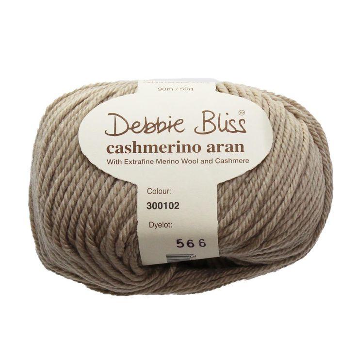 Debbie Bliss Yarn - Cashmerino Aran - #102 BEIGE - 10 ply, 50g / 90m by TuppysAussieYarns on Etsy https://www.etsy.com/listing/270346755/debbie-bliss-yarn-cashmerino-aran-102