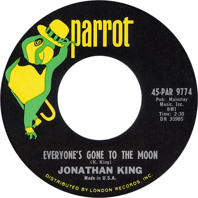 Everyone's Gone To The Moon - Jonathan King (1965)