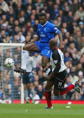 Marcel Desailly, France (FC Nantes, Olympic Marseille, AC Milan, Chelsea, Al-Gharrafa, Qatar SC, France)