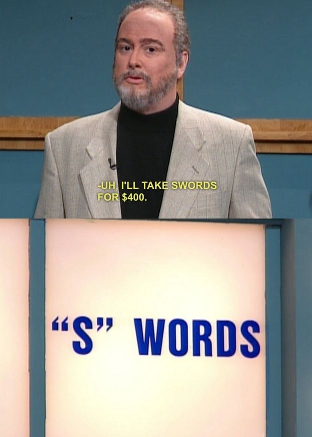 Celebrity jeopardy on snl with sean connery