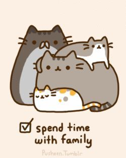 pusheen | Pusheen's Christmas to do list - Pusheen the Cat Photo (27845019 ...