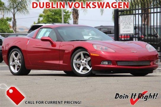 Coupe, 2005 Chevrolet Corvette Coupe with 2 Door in Dublin, CA (94568)