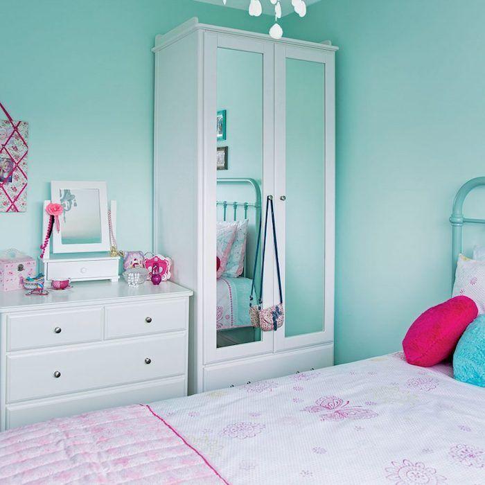 Weisse Wandfarbe Schlafzimmer Wandfarbe Beige Full Size Of: 1001 + Inspirierende Ideen Für Wandfarbe Türkis