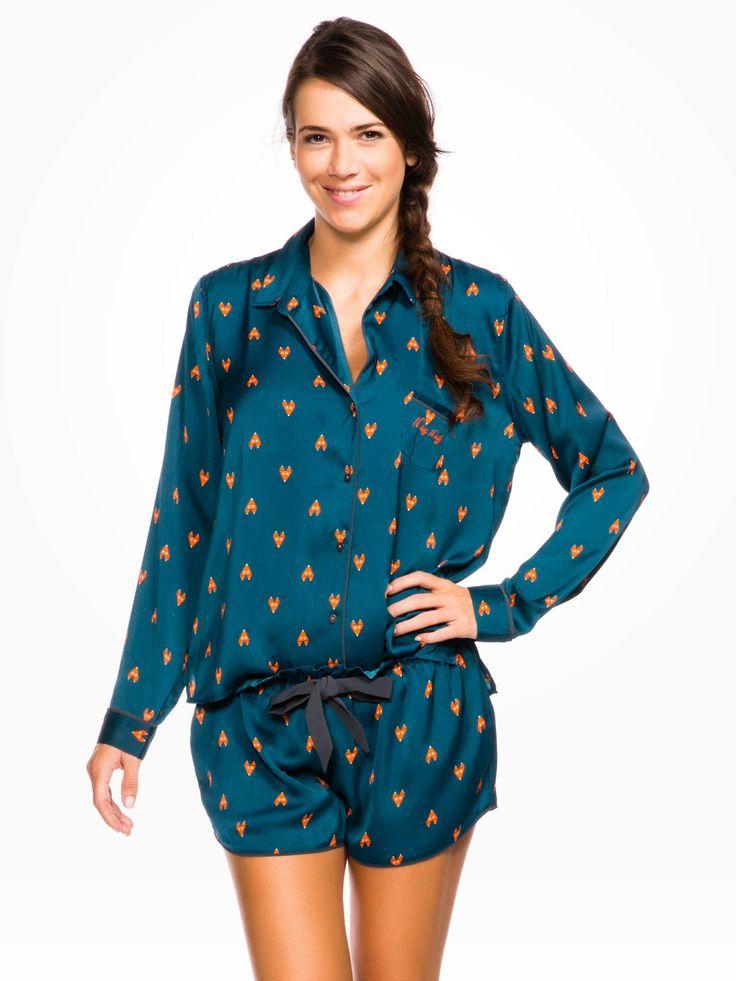Pyjama combinaison short - Pyjama, nuisette femme - FEMME - LINGERIE