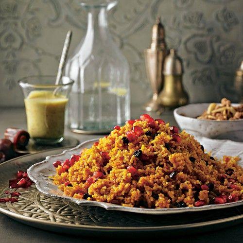 Reissalat mit Dattel-Dip - BRIGITTE