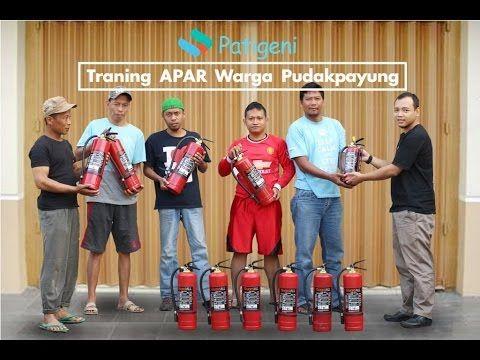 Training Cara Penggunaan Alat Pemadam Api Ringan