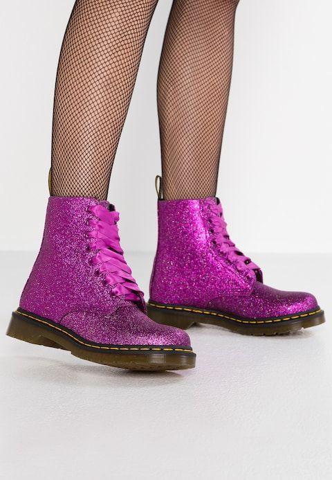 6aeb12d8eca6 1460 PASCAL GLITTER - Veterboots - pink fine @ Zalando.nl 🛒 | ALFa's Style  | Glitter, Dr martens 1460, Pink