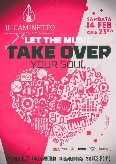 Love sounds better with music! @ Il Caminetto Party