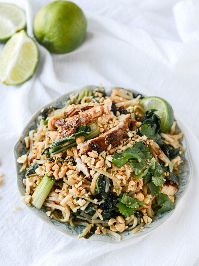thai chicken street noodles