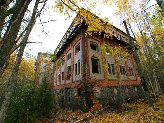 Övergivna platser - Grängesberg