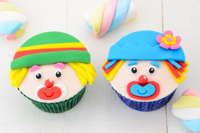 Cupcake Patati Patatá para aniversário de um menino muito especial. Bolos e Cupcakes - The Cake Shop - São Leopoldo e Grande Porto Alegre