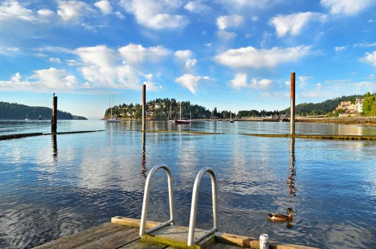 Armours Beach - Gibsons, Sunshine Coast, Howe Sound, British Columbia, Canada