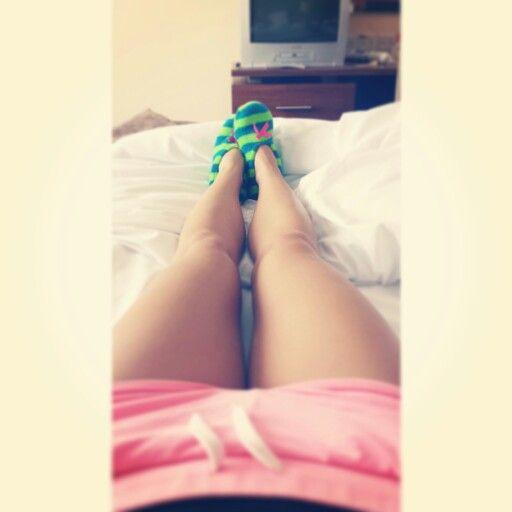 Pink shorts, morning vibes.  https://instagram.com/holla_jazzy/