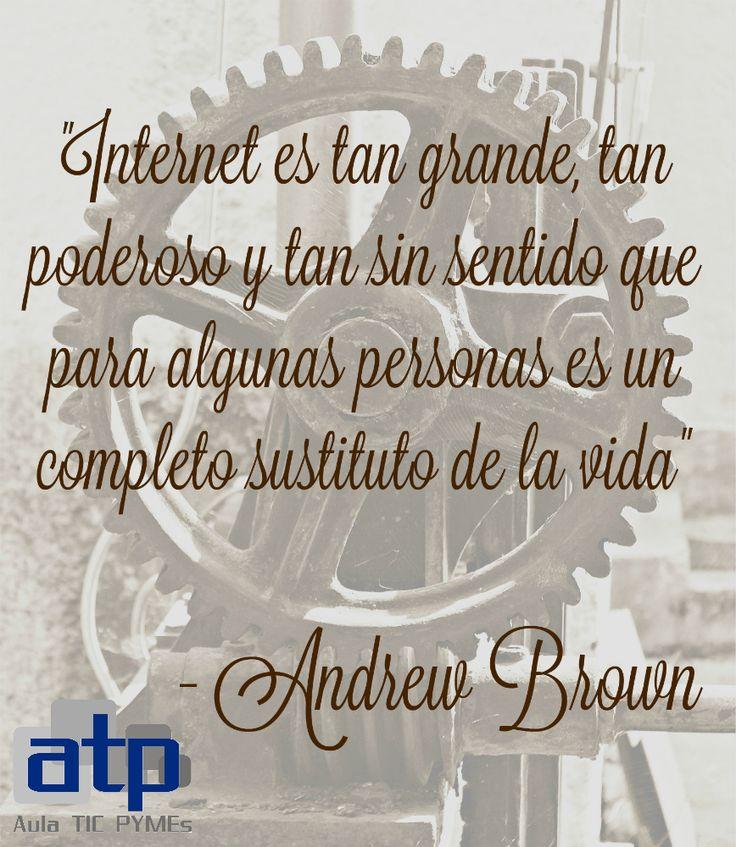 Cita de Andrew Brown