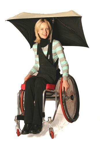 WHEELCHAIR: Wheelchair accessories: innovative and cool wheelchair accessories by RehaDesign.